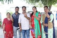 फगवाड़ा में 55.97 प्रतिशत मतदान, ईवीएम में बंद प्रत्याशियों का भविष्य