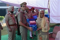 एसएसपी ने शहीदों को सलामी देकर दी श्रद्धांजलि