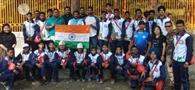 इंडो नेपाल यूथ गेम्स के लिए खिलाड़ी नेपाल रवाना