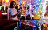 इस दिवाली मार्केट में फीकी पड़ी चाइनीज लाइटों की बिक्री, जानिए क्या है वजह Chandigarh News