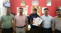 परागपुर की कृतिका राष्ट्रीय खेलों में दिखाएगी दम