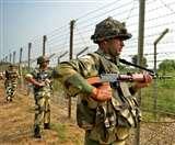 फिरोजपुर में भारत-पाक सीमा पर घुसपैठ की कोशिश, BSF ने दो पाकिस्तानियों को पकड़़ा