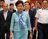 हांगकांग की सबसे बड़ी मस्जिद में नुकसान के लिए कैरी लैम ने मांगी माफी