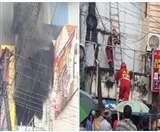 हैदराबाद: शॉर्ट सर्किट से एक बिल्डिंग में लगी आग, सभी सुरक्षित