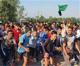 नशे के खिलाफ दौड़े नूरपुर के युवा, एसपी ने कहा- नशा तस्करों की जानकारी दें, गुप्त रखा जाएगा नाम