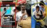 Traffic Police ने क्यों छीना बस ड्राइवर का मोबाइल, Social Media पर हो रही Viral Video में देखिए कहानी का Climax