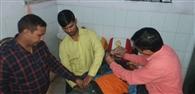 कैंटर ने ट्रैक्टर-ट्राली में मारी टक्कर, बिहार के युवक की मौत