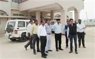 नगूरां और अलेवा सीएचसी के भवन का स्वास्थ्य विभाग की टीम ने किया निरीक्षण