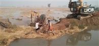 ओवरफ्लो होने से टूटी भिवानी डिस्ट्रीब्यूटरी, 800 एकड़ फसल जलमग्न