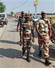 हुसैनाबाद में विस चुनाव को ले आइटीबीपी ने चलाया जांच अभियान
