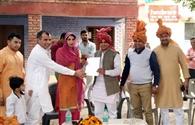 विधायक ने किया गांवों का दौरा