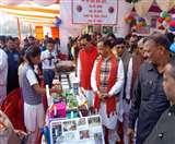 ताजनगरी में बोले डिप्टी सीएम, जिले के हर केंद्र पर रहेगी कंट्रोल रूम की नजर Agra News