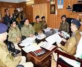 डीआइजी का सख्त निर्देश, टीम बनाकर हर हाल में अपराधियों को करें गिरफ्तार nainital news