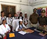 अमेठी में कक्षा नौ की छात्रा बनी एक दिन की कोतवाल, सुलझाया पारिवारिक विवाद Amethi news