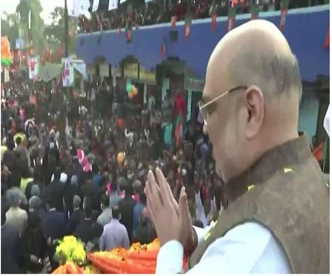 केंद्रीय गृह मंत्री व भाजपा के दिग्गज नेता अमित शाह