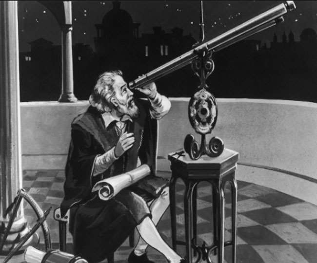 विज्ञान का जनक महान वैज्ञानिक गैलीलियो गैलिली
