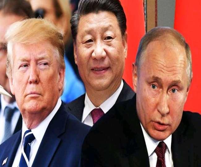 अमेरिका ने चीन और रूस की 103 संस्थाओं पर लगाया प्रतिबंध।