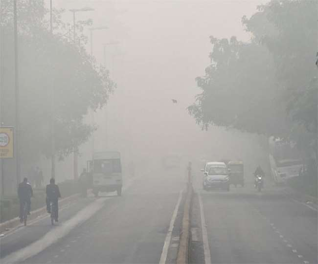 उत्तर भारत में आज ठंड से थोड़ी राहत मिली है फिर कुछ इलाकों में धुंध छाया रहा। फाइल फोटो