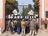 CAA : एएमयू छात्रों ने बॉबे सैयद बंद कर इंतजामियां का विरोध किया Aligarh News