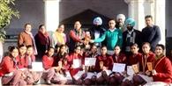 माल रोड सरकारी स्कूल की छात्राओं ने जीते इनाम