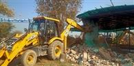 जुलाना में अवैध निर्माण पर चली जेसीबी
