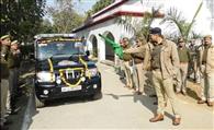 महिला सुरक्षा को मैदान में उतरी पीआरवी