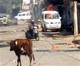 CAA Support में निकाले गए जुलूस पर पथराव, पुलिस के वाहन फूंके; कर्फ्यू लागू