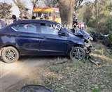 पठानकोट-मंडी एनएच पर छतराेली में कार और बाइक की टक्कर में युवक की मौत, क्षत विक्षत हुआ शव