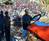 हजारों नम आंखों ने दी शहीद राहुल को अंतिम विदाई, गगनभेदी नारों से गूंजा आसमान nainital news