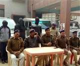 पूर्वी चंपारण में लूटी गई स्कॉर्पियो के साथ तीन गिरफ्तार, 24 घंटे में पुलिस ने मामले का किया पर्दाफाश EastChamparan News