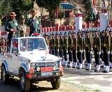 कुमाऊं रेजिमेंट मुख्यालय 276 जांबाजों ने ली देश के लिए जान न्यौछावर करने की कसम nainital news