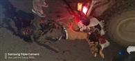 सड़क हादसे में वाहन मिस्त्री की मौत, एक गंभीर