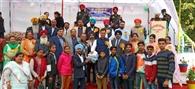 विधायक डॉ. राजकुमार चब्बेवाल ने किया वुडबरी स्कूल के छात्र को सम्मानित