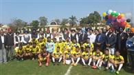 19वां अर्जुन वार्ड ओलंपियन जरनैल सिंह फुटबाल टूर्नामेंट शुरू