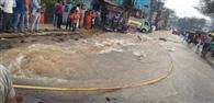 मानगो में पाइप लाइन क्षतिगस्त, 30 हजार लोगों को आज नहीं मिलेगा पानी