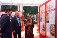 एक भारत-श्रेष्ठ भारत कार्यक्रम में पेंटिंग कर किया जागरूक