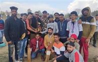 बरंडा इलेवन ने जीती क्रिकेट प्रतियोगिता