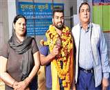 Asian Wrestling Championship : आदित्य कुंडू ने ब्रॉन्ज जीत रचा इतिहास Chandigarh News
