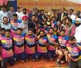 राष्ट्रीय सीनियर हैंडबॉल में पंजाब बना चैंपियन, रेलवे की टीम रही रनर Kanpur News