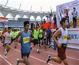 नई दिल्ली मैराथन 2020 में रशपाल सिंह और ज्योति गावटे ने जीता खिताब