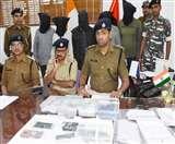 Saraiya bank robbery : पांच लुटेरा गिरफ्तार, लूट के 3.21 लाख बरामद, जानें कैसे मिली सफलता