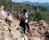 विशाल पत्थर ने छह दिन से रोकी है चीन सीमा की राह, बारूदी विस्फोट के कारण हुआ था ब्लॉक