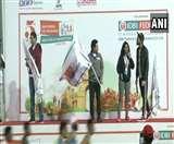 New Delhi Marathon 2020: सचिन तेंदुलकर ने मेराथन को दिखाई हरी झंडी