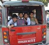 नौनिहालों पर संकट : फिटनेस न परमिट, क्षमता से अधिक ढो रहे बच्चे Bhagalpur News