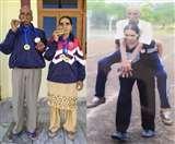 बेटी ने टोका तो 80 वर्षीय पिता ने जीते 250 मेडल, ताने सहे मगर पत्नी को भी बनाया चैंपियन