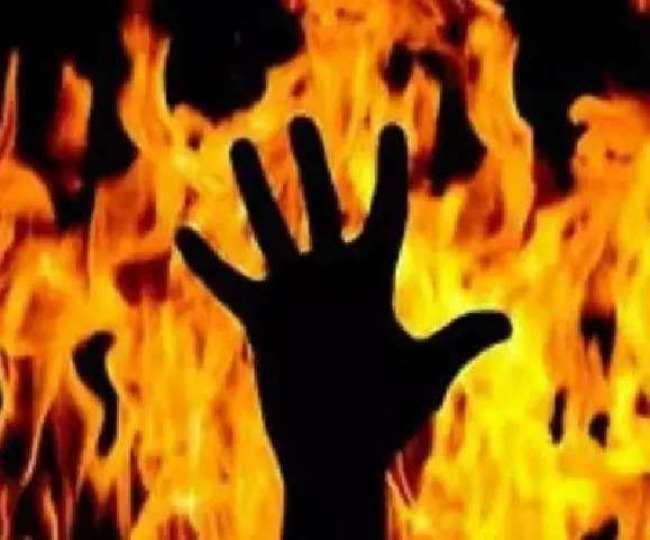 यमुनानगर में युवक ने पत्नी, साली और खुद पर तेल डालकर आग लगाई।