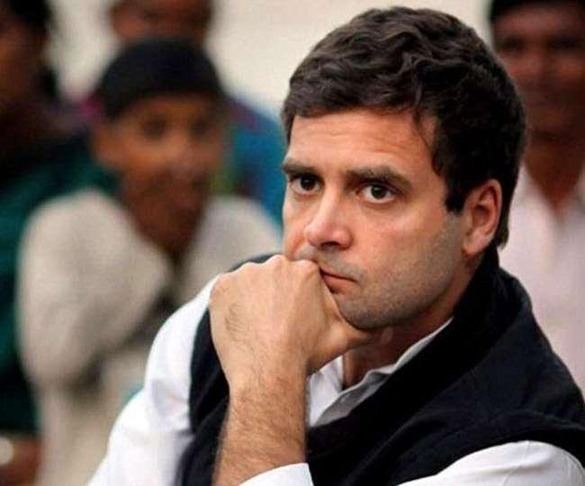 पुडुचेरी में कांग्रेस सरकार गिरने पर भाजपा ने राहुल पर साधा निशाना