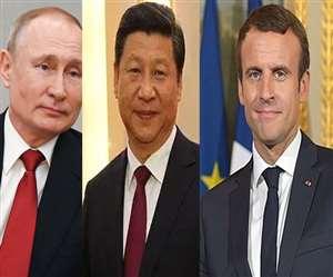 फ्रांस, यूरोपीय संघ, आस्ट्रेलिया, रूस और चीन ने भेजा मदद का प्रस्ताव।