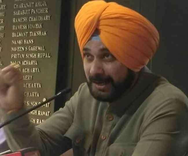 नवजोत सिंह सिद्धू की फाइल फोटो। जागरण