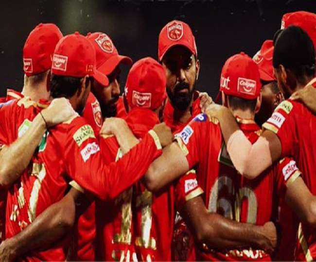 पंजाब किंग्स की टीम के खिलाड़ी- फोटो ट्विटर पेज